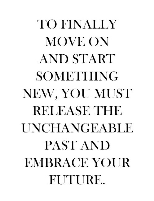 Embrace your future