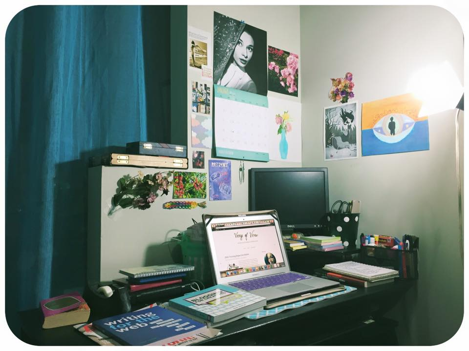 My artsy workspace 01-11-2015