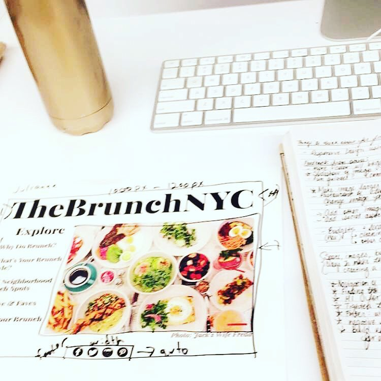 TheBrunchNYC Web Design Project In-Progress