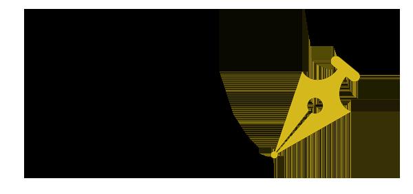 VoV Logo- Flourish & Fountain Pen