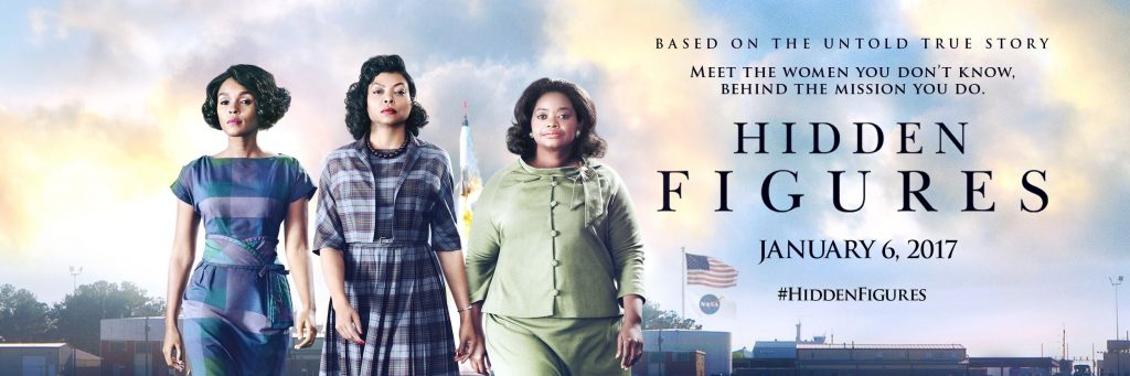 Hidden Figures Movie Banner